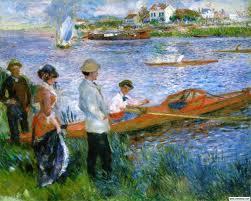 """Pierre-Auguste Renoir's """"Oarsmen at Chatou"""""""