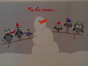 Our card this year